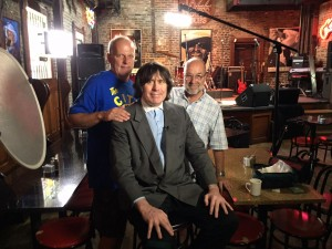 L to R: Dave Hoekstra. Beatle Bob, Tom Vlodek talking about the Morells and Skeletons in St. Louis, Sept. 2, 2015